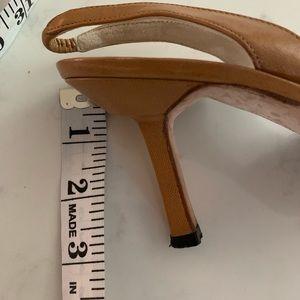 Manolo Blahnik Shoes - Manolo Blahnik open sling back shoe